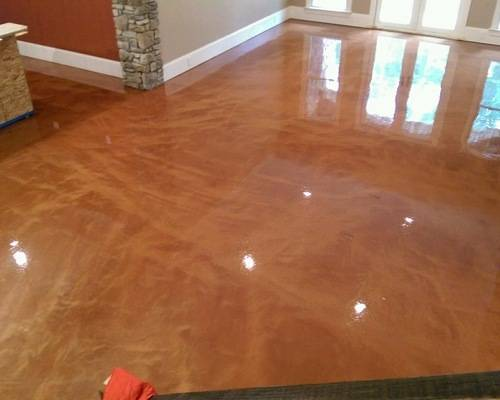 Decorative lava floor archway coatings for Lava parquet