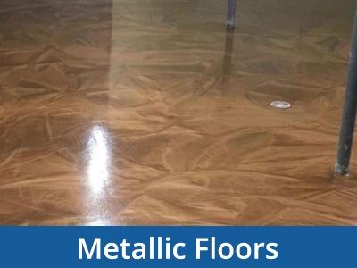 metallic floors